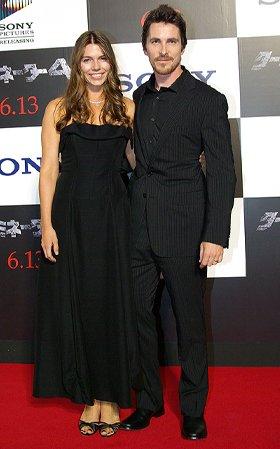 クリスチャン・ベールと妻のサンドラ・シビ・ブラシック