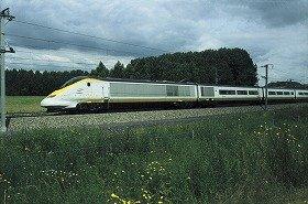 「ユーロスター」は、ロンドンと欧州大陸を結んでいる (c)EUROSTAR