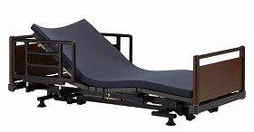 停電時でも安心の電動ベッド(低床型)