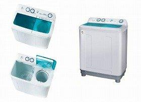 ちょっと、なつかしい?「二槽式洗濯機」