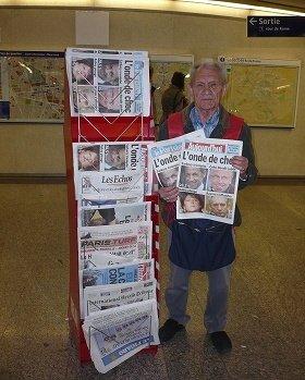 有料紙の売り上げUPに貢献する「呼売り人」