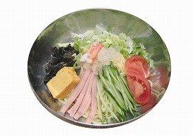 「東京中華食堂」の「黒酢とコラーゲンの冷し中華」