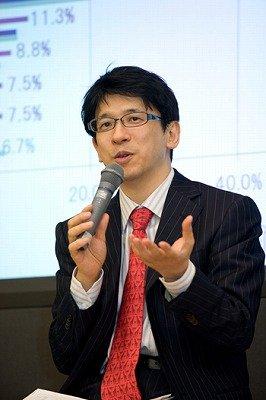 「テレビは家族が集まるために必要」と語る齋藤孝教授