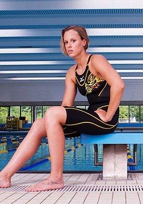フェデリカ・ペレグリニ選手(写真)と共同で企画した