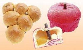 「まるでぶどうパン」は縦16cm、横17cmと食べ応えアリ