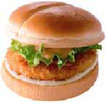 「エビバーガー」が190円で食べれます