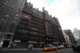 建設当時ニューヨークNo.1の高さを誇ったアパートビル