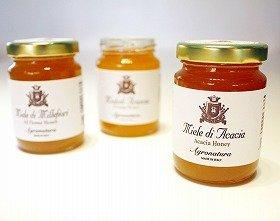 「アグロナチュラ」から新発売のはちみつ。養蜂農家はイタリア北部のピエモンテ州とリグリア州の境、ランゲという養蜂が盛んな地域にある