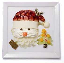 一風変わったケーキは子どもにも喜ばれそう(画像は「X'mas サンタ」)