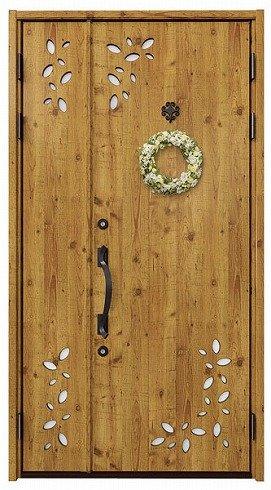自然のぬくもりが暖かい玄関ドア