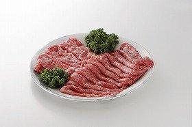 写真は、「松阪牛贅沢すき焼き袋」のすきやき用松阪牛