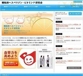 09年9月に開設された研究会のウェブサイト