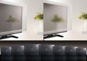 テレビの液晶画面を傷つけず、ホコリを寄せつけない丈夫なパネル