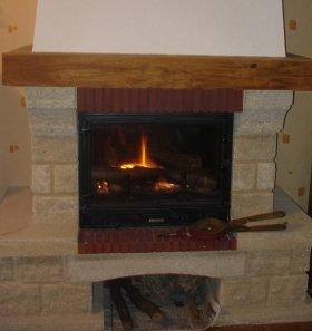 冬の暖炉はロマンチック