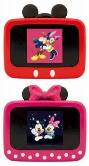 ミニフォトフレーム「framee-Pocket」、ミッキースタイル(上) とミニースタイル(下)「(C)Disney」