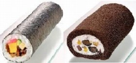 ロールケーキを丸かぶりするのは難しい!?