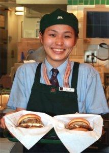 「ゆっくり味わって」と大出麻紀子副店長