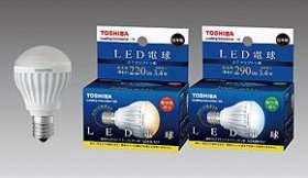 LED電球が小形化されて、さらに用途が広がる