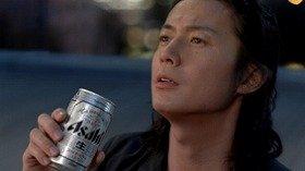 福山さんの「渇き」を癒すのは「アサヒスーパードライ」