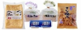 国産大豆100%で安心、安全のおいしい豆腐を召し上がれ