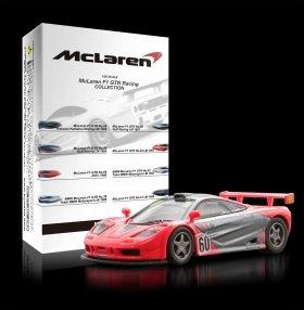 「McLaren F1 GTR No.60 JGTC 1996」。パッケージを開封するまで車種が分からないブラインド仕様