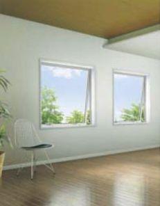 モダン住宅にあった窓を提案 (イメージは「スクエア大型突出し窓」)