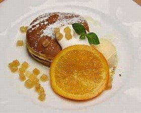 ふんわりカステラ風の新パンケーキ