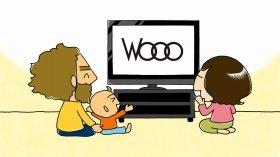 テレビにまつわる話が展開される