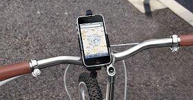 画像は自転車用の「TUNEMOUNT Bicycle mount」