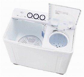 たくさんの洗濯物が洗える大容量