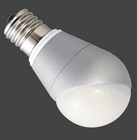 斜めに取り付けても直下が明るいLED電球