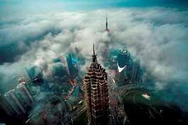 「上海環球金融中心」から見た美しすぎる上海