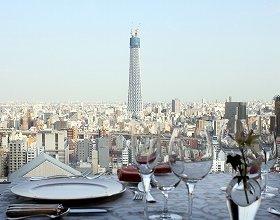現在、こんな感じで東京スカイツリーが見られる