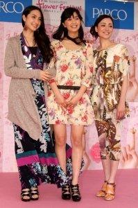 左から香椎由宇さん、石橋杏奈さん、美波さん