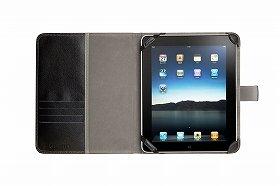 iPadのアクセサリーを同日発売(写真は「ELANFOLIO for iPad」)