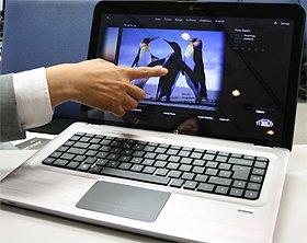 日本HPの2010夏モデルノートブックPC。写真は「dv6p」