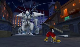 Image of Kingdom Hearts 3D, which is under development.