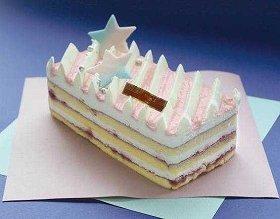 七夕ならではのかわいらしいケーキ