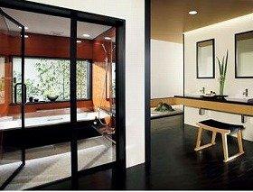 空間としてのバスルームの完成度を高めた