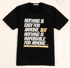 おしゃれなチャリティーTシャツ