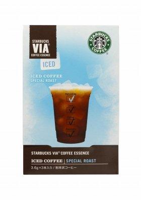 スターバックスがスティックタイプのコーヒー粉末を発売