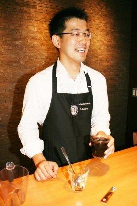 コーヒースペシャリスト・田原象二郎さん