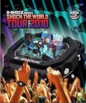 盛り上がりを見せる「SHOCK THE WORLD TOUR 2010」