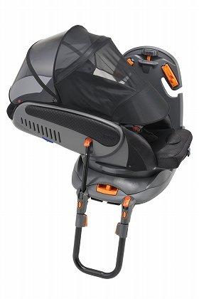 安全性と快適性に配慮した「3ステップチャイルドシート」の新製品「ベッティーノ フィール(HIDX)」