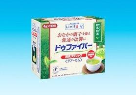 便秘改善に、食物繊維入り粉末緑茶