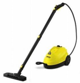 139度の熱湯を蒸気に変えて床を掃除する