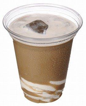人気ナンバーワンのソフトクリームとコーヒーのコラボ