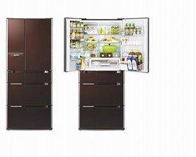 独自技術で食品の酸化を防ぎ、かつ収納スペースも広びろ(写真はR-A6200)