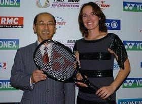 テニスの女王ヒンギス選手
