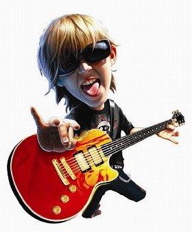 「ペーパージャム ギター」イメージ